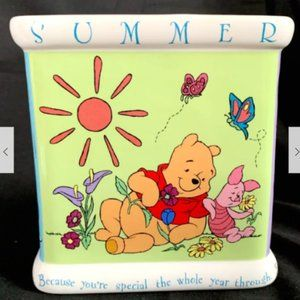 FTD Inc. Accents - FTD Inc. Winnie The Pooh Seasons Vase Collector